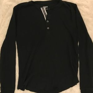 EXPRESS long sleeve Henley